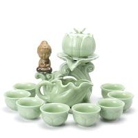 茶具套装整套茶壶茶杯青瓷半全自动泡茶器