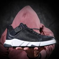 秋冬季英伦男鞋运动休闲鞋男跑步鞋韩版潮皮鞋青年男鞋子板鞋