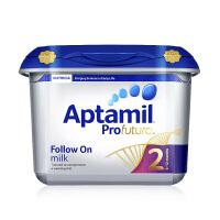原装进口 保税仓发货Aptamil 英国 爱他美 白金版婴幼儿奶粉 2段 6-12个月 800g正品保障