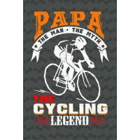 【预订】Papa the Man the Myth the Cycling Legend: Journal for M