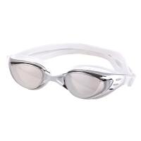 男女游泳眼镜大框电镀游泳镜 新款高清防水防雾泳镜 不压眼大镜面