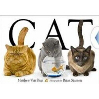 英文原版 Cat Van Fleet趣味启蒙认知系列:猫 木板书