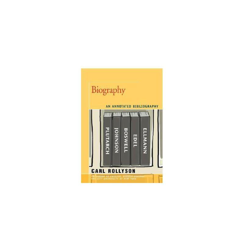 【预订】Biography: An Annotated Bibliography 美国库房发货,通常付款后3-5周到货!
