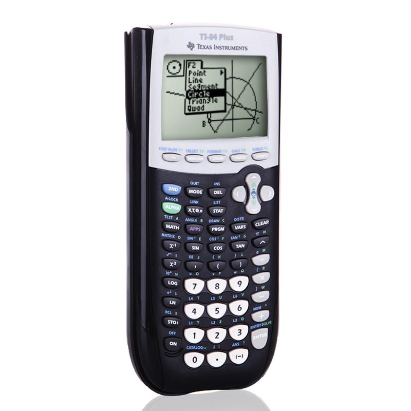 德州仪器TI-84 PLUS图形计算器SAT/AP留学ti84考试计算机 发货周期:一般在付款后2-90天左右发货,具体发货时间请以与客服协商的时间为准