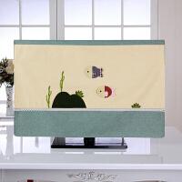 65寸55英寸电视套防尘罩简约现代液晶50寸挂式套子盖布