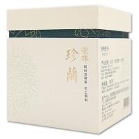 普洱茶珍兰春茶普洱茶生茶160g典雅礼盒装