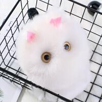 耳套保暖耳罩女冬季可爱卡通立体猫咪仿兔毛耳暖耳包耳捂韩版
