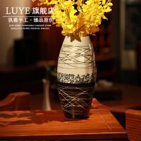 桌面陶瓷摆件家居饰品 青花瓷花瓶干花瓷花器