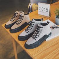 DAZED CONFUSED 潮牌男鞋子韩版潮鞋冬季棉鞋男保暖加绒休闲鞋高帮板鞋学生鞋