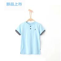 童装男童短袖Polo衫儿童小立领短袖T恤春夏季新品