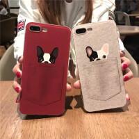 苹果7手机壳iphone8/x保护套6splus硅胶软8p全包防摔女款卡通可爱