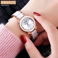 金米欧简约陶瓷手链手表455正品 女学生表潮流时尚女表石英表
