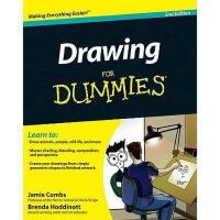 【预订】Drawing For Dummies, 2Nd Edition