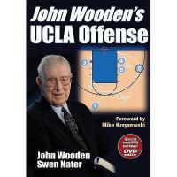 【预订】John Wooden's UCLA Offense [With DVD]
