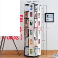 置物架简约现代CD架旋转书架简易学生小书架儿童创意书柜书架落地