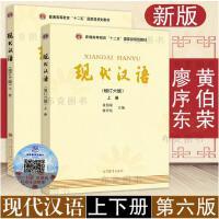 现代汉语 上下册 共两本 黄伯荣廖序东 大学现代汉语教程 现代汉语教程 汉语言学专业考研教材