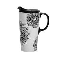 【网易考拉】考拉工厂店 DIY手绘花朵带盖魔法杯+陶瓷笔