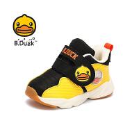 B.Duck 小黄鸭童鞋男童棉鞋 新款保暖运动棉鞋学生休闲潮鞋B5083959