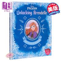 【中商原版】冰雪奇缘2:我的宝藏日记 Disney Frozen 2 冰雪奇缘 迪士尼 礼品套装书 亲子绘本 6岁以上