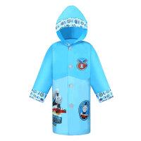 托马斯 儿童雨衣防水带书包位男童幼儿园宝宝连体可爱卡通雨披