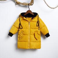 儿童羽绒中长款宝宝棉衣男童女童加厚棉袄冬季童装婴幼儿外套