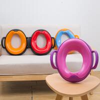 女孩通用马桶圈盖婴儿座便器 儿童马桶垫3坐垫圈1-6岁女宝宝坐便器
