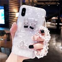 iPhoneXS手机套Max手机壳硅胶苹果8p潮牌iphone7plus新款6s软套钻女款贝壳i7全包边i8个性创意立