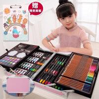 儿童礼物儿童文具套装学习礼品小学生画画用品画笔小男女孩幼儿园水彩笔小孩子生日创意新生入学礼物