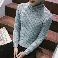 天紧身男土高领长领针织毛衣青年秋高龄长颈打底毛衫线衣