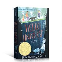 英文原版 Hello, Universe 你好,宇宙 2018纽伯瑞金奖 儿童文学小说 7-12岁课后阅读插图故事书