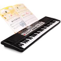 61键电子琴儿童初学1-3-6带麦克风宝宝音乐钢琴玩具