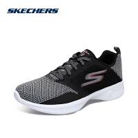Skehers斯凯奇女鞋网布低帮健步鞋透气轻质减震运动鞋