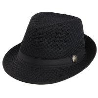 中老年男士帽子夏季爸爸礼帽遮阳太阳帽透气清爽凉帽户外防晒帽子