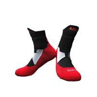 篮球袜男士吸汗中筒毛巾袜跑步运动袜长筒袜子