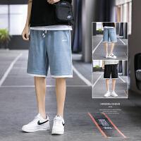 短裤男士2021新款夏季ins潮流沙滩篮球裤外穿运动五分裤