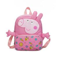 儿童书包 幼儿园书包可爱卡通小猪佩奇包包背包1-3岁男女童宝