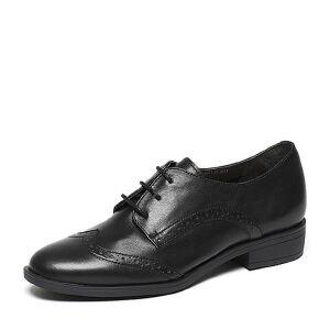 Belle/百丽2017春专柜同款经典百搭牛皮革女单鞋BLS20AM7