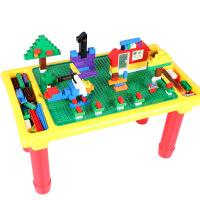 小颗粒拼插积木底板积木桌收纳宝宝拼装玩具男孩女孩