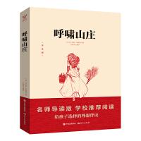 正版 呼啸山庄 青少版正版书籍 世界名著励志版 6-10-12-15岁儿童书籍 小学生正版四年级畅销书