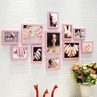 背景墙装饰相框墙挂画美甲照片墙贴纸会所指甲壁画美容院化妆品店