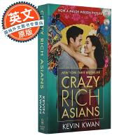 摘金奇缘 疯狂的亚洲富豪 英文原版 Crazy Rich Asians