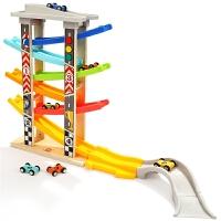 1-2-3岁宝宝玩具益智早教男孩儿童女孩轨道滑翔车玩具汽车