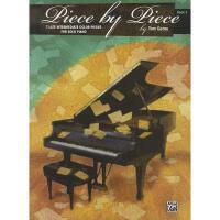【预订】Piece by Piece, Bk 3: 7 Late Intermediate Color