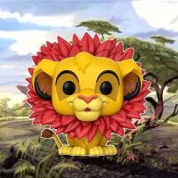 狮子王 辛巴 叶子型鬃毛版辛巴 模型玩偶摆件