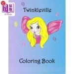 【中商海外直订】Twinkleville Coloring Book: A Magical Fairy Colorin