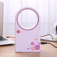 小风扇迷你可充电手持掌上空调风扇小型无叶USB制冷便携学生宿舍小电扇 均码