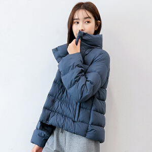 yaloo/雅鹿雅鹿轻薄羽绒服女短款新款 韩版鸭绒休闲宽松时尚外套