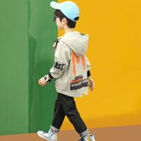 男童外套春夏款2021新款时尚洋气风衣中大童韩版儿童时髦夹克