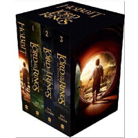 【现货】英文原版The Lord of the Rings 3 Volume Box Set + The Hobbit