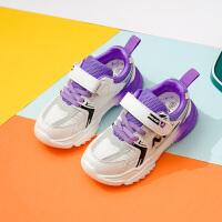 女童运动鞋春秋新款儿童鞋子韩版中大童女孩透气春款男童鞋